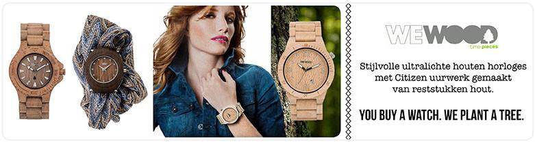 Houten horloges dames