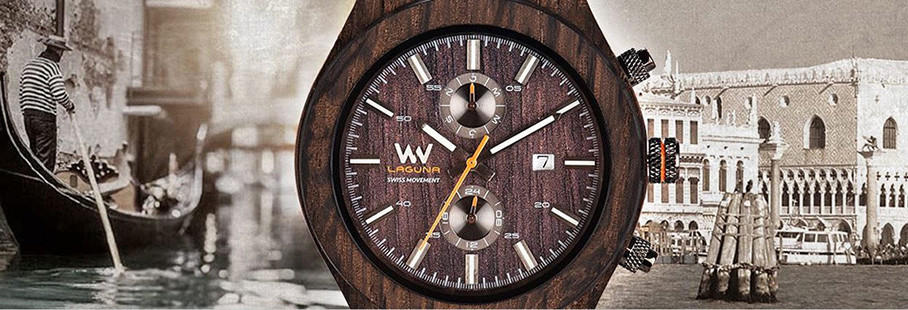 Houten horloges heren