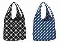 ECOZZ Little Big Bag Squares serie - opvouwbare boodschappentassen van gerecycled PET
