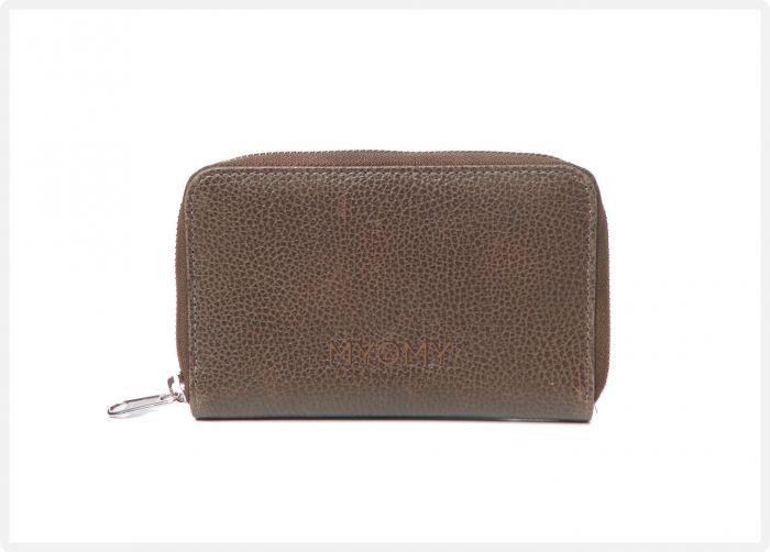 0b020a68260 MYOMY Wallet medium rambler brandy - eco leren portemonnee voor dames - EAN  8719075371589