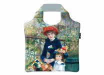ECOZZ Two Sisters Renoir - GCAR01 - opvouwbare tas van rPET