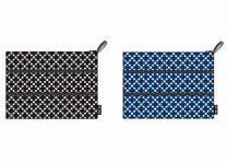 ECOZZ - Zip pocket Squares serie - etuis met 3 ritsen gemaakt van rPET