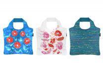 ECOZZ Happy serie - opvouwbare tassen met rits van rPET